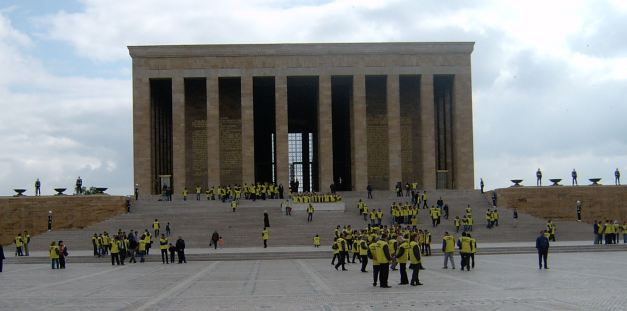 Ataturks Mausoleum in Ankara
