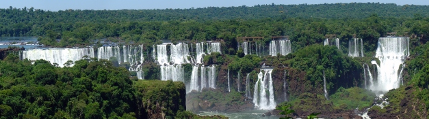 Iguasu (Iguazu) one of the most stuuning waterfalls in the world.