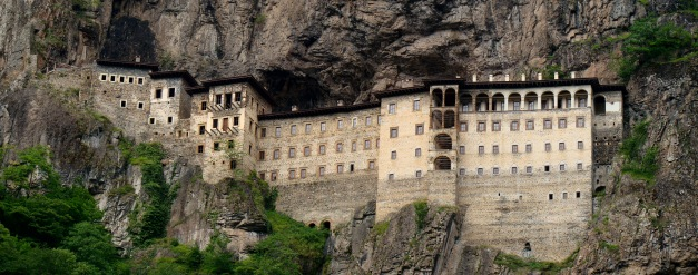 The hanging Monastary of Mary in Sumela
