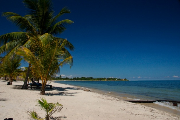 Belize is known for its pristine beaches and fantastic dive spots