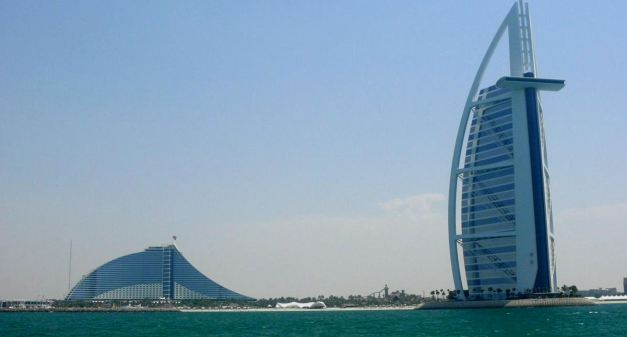 The Burj Al Arab and the Jumeirah Beach Hotel are perhaps the most iconic landmarks of Dubai