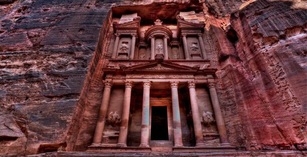 The Ruins At Petra have been used time and again in Film