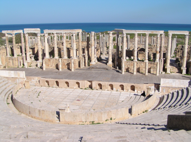 Libya is home to some of the worlds best preserved Roman, Greek, Phoenecian and Cartthagian Ruins