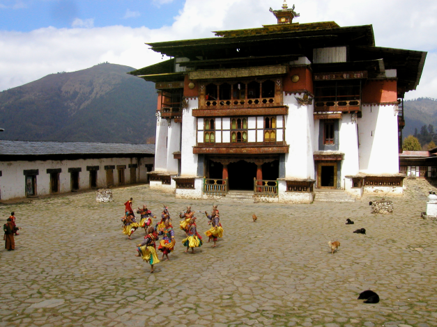 Bhutan is a country still living as it has done for its long history