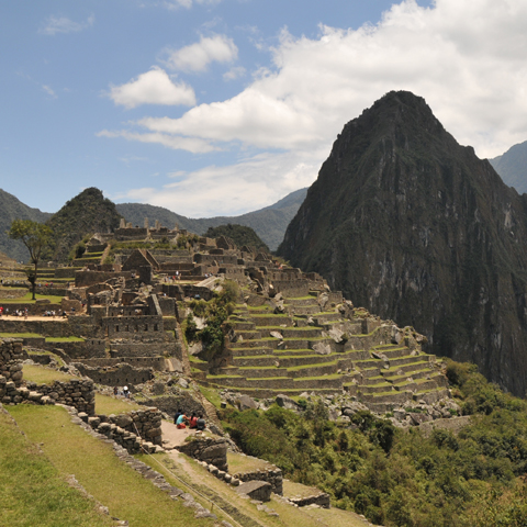 Machu Picchu was the centre of the Ancient Incan Empire