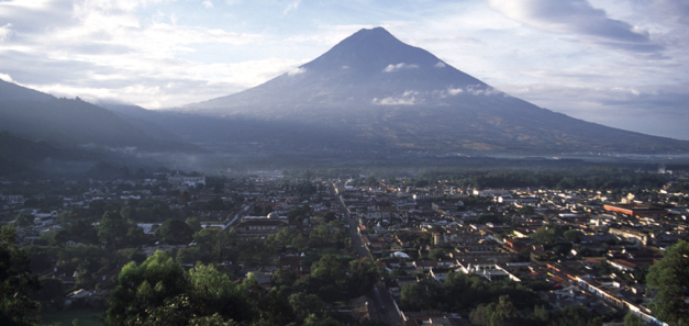 Antigua is the main portal for many travellers coming into Guatemala
