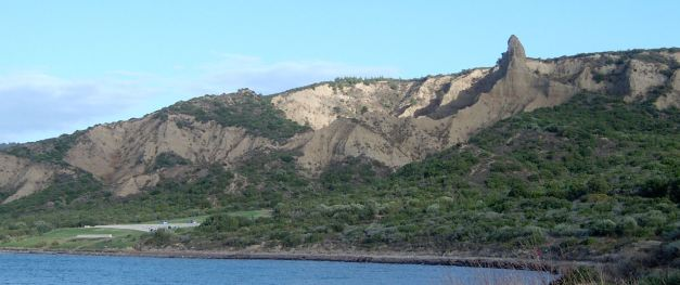 ANZAC Cove, where the ANZAC Day Dawn Services are held is not the landing point of the ANZAC Forces. The actual landing point was a short way up the Peninsula and was a much steeper point along the cliffside