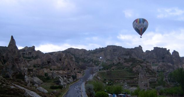 Taking a Balloon Ride in Cappadocia is probably the most incredible way to see the surreal landscape