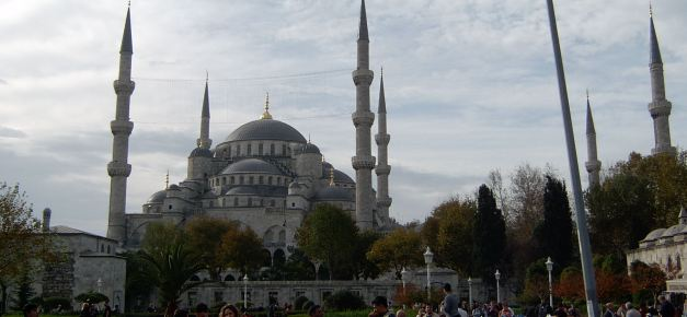 The Blue Mosque is one of the worlds most recognisable religious buildings