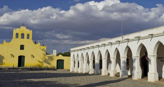 The Church at Cachi is a fantastic example of colonial architecture
