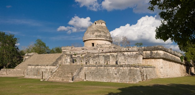 The Observatory at the Mayan Ruins of Caracol