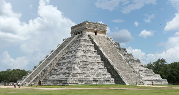 The Steppe Pyramid of Chichen Itza
