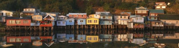 Stilt Houses at Chiloe Island