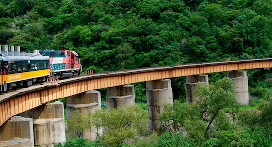 Rail is one of the best ways to explore the Copper Canyon Network