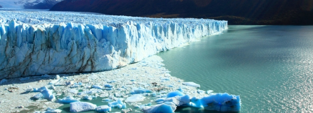 The Perito Merino Glacier is a fantastic sight in El Calafate