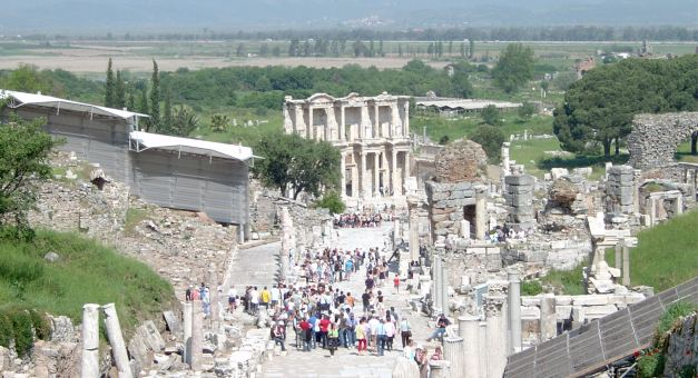 Ephesus was once a thriving, vibrant, seaside city
