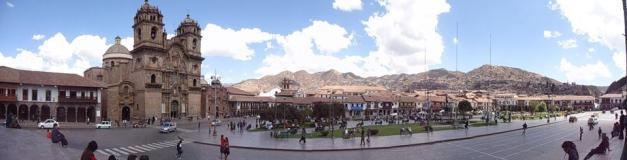The Plaza de Armas in Cusco