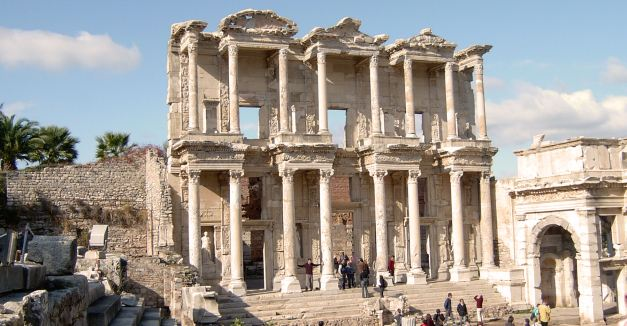 The Library is one of the highlights of the Ancient City of Ephesus