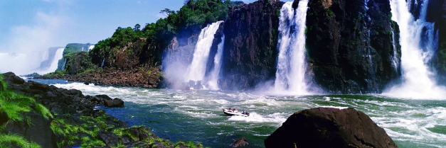 Iguasu Falls is amongst the most impressive of all the worlds Cataracts and waterfalls