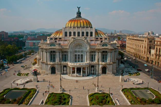 Palacio des Bellas Artes Mexico City