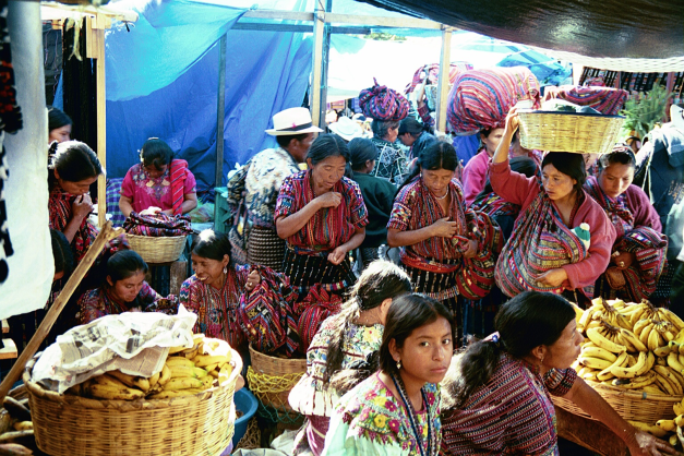 The Markets at Chi Chi Castenango operate every Thursday and Sunday