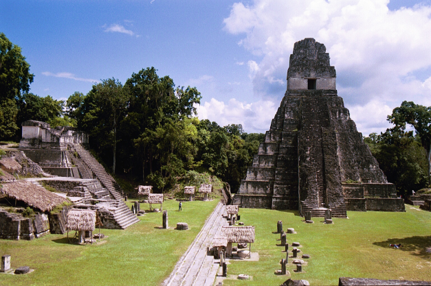 The Tikal Complex is a popular tourist destination in Guatemala