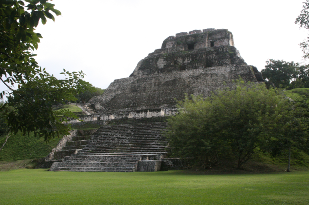 The ruins of Xunantunich