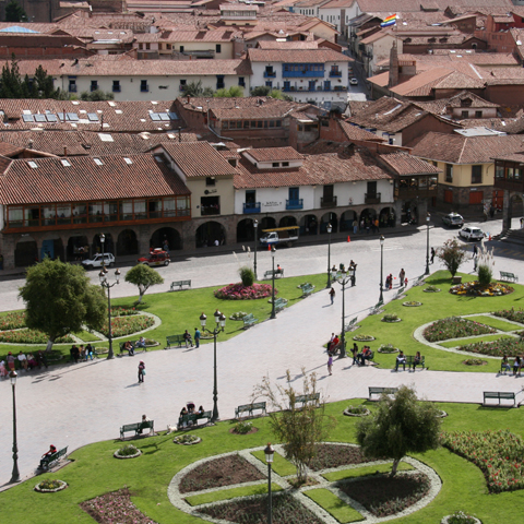 Cusco lies at the heart of the Sacred Valley
