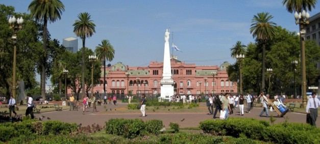 The Plaza de Mayo is a highlight of Buenos Aires