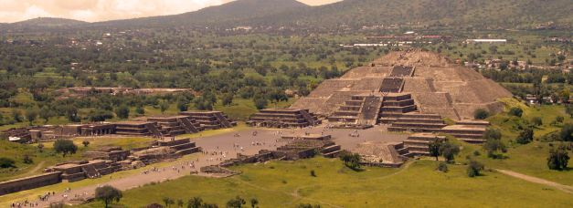The ancient city of Teotihuacan is but one of many sights, places and experiences for a visitor to experienceon a trip to Mexico
