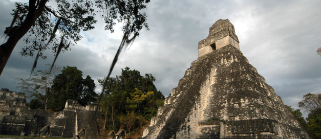 Tikal was a major centre of the Mayan Empire