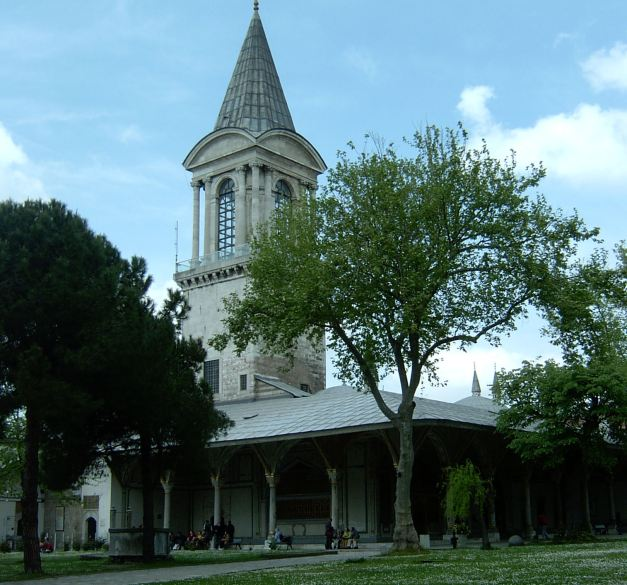 The Topkapi Palace was the home of the Ottoman Emperors