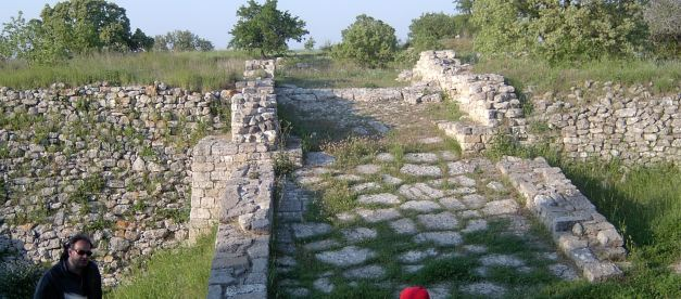 Despite living through 8 Incarnations, there is little remaining today of the fabled city of Troy