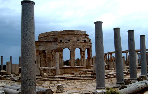 The Agora (Ancient Markets) of Leptis Magna