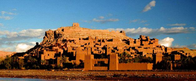 Ait Ben Haddou the best preserved of the Kasbahs