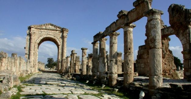 The Ancient City of Al Mina near Tyre