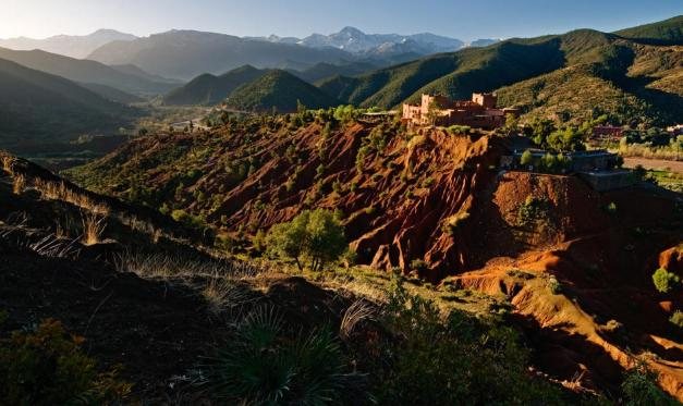 The Atlas Mountains help provide Morocco with its climate, and have been renowned as a hunting preserve for centuries