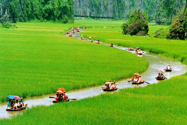 There are a number of amazing sights in North Vietnam