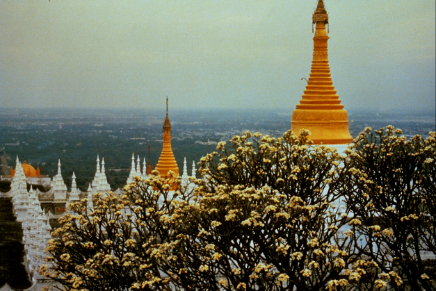 Atop Mandalay Hill