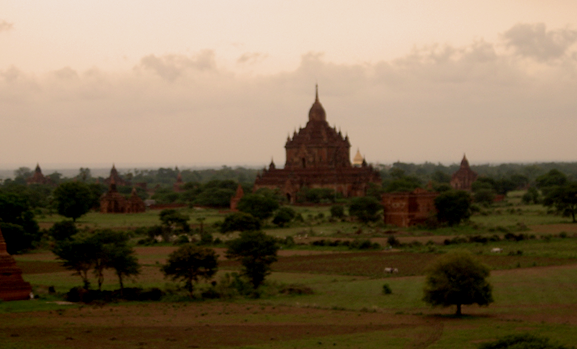 The thousands of temples at Bagan have been labeled a World Heritage Site