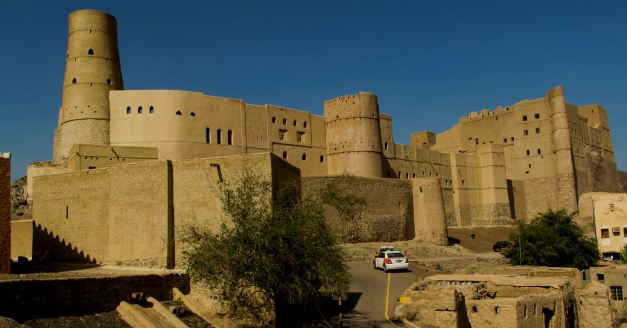 The Bahala Fort is undergoing reconstruction headed by UNESCO