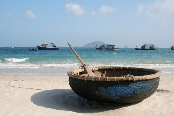 Basket Boat at Con Dao