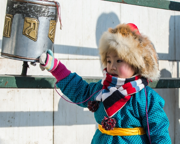 There is a diverse range of cultural groups in Mongolia still living in traditional manners