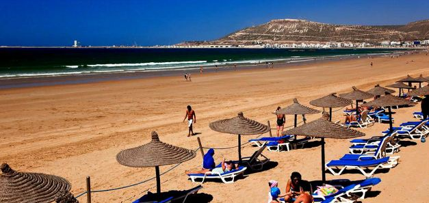 The Beaches of Agadir are a popular seaside location in Morocco