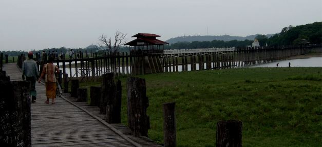 U Bein's Bridge at Amarapura