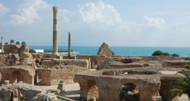 The now ruined city of Carthage was once the largest city in northern Africa