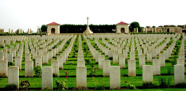 Commonwealth War Graves at Medjez el bab