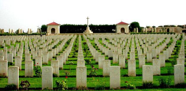 Commonwealth War Graves at Medjez el bab