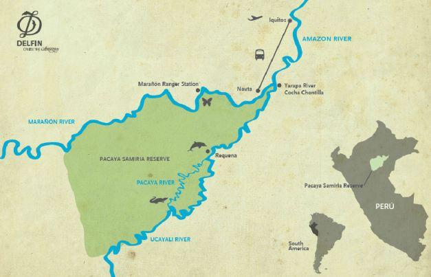 delphin 1 route map