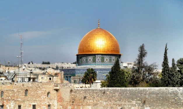The Golden Roof of the Dome Of The Rock is an instantly recognisable symbol of Jerusalem